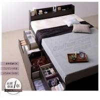 简约现代抽屉储物板式床定制日韩榻榻米收纳高箱床R616F